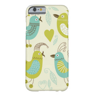 cate cartoon birds barely there iPhone 6 case