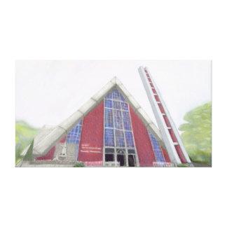 Catedral de Londrina Stretched Canvas Prints
