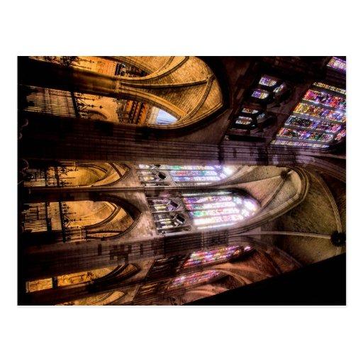 Catedral de Santa Maria de Regla de Leon Post Card