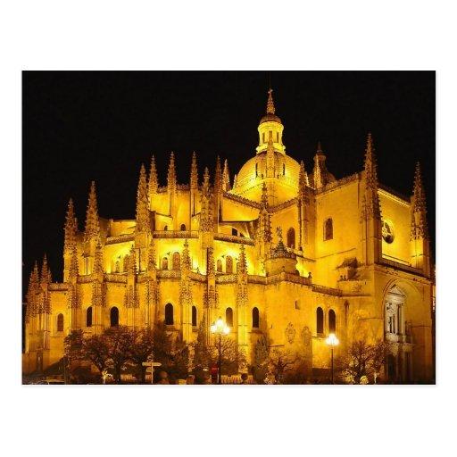 Catedral de Segovia , Espana Post Card