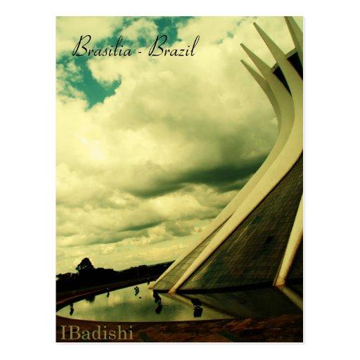 Catedral metropolitana, Brasilia - Brazil Postcard