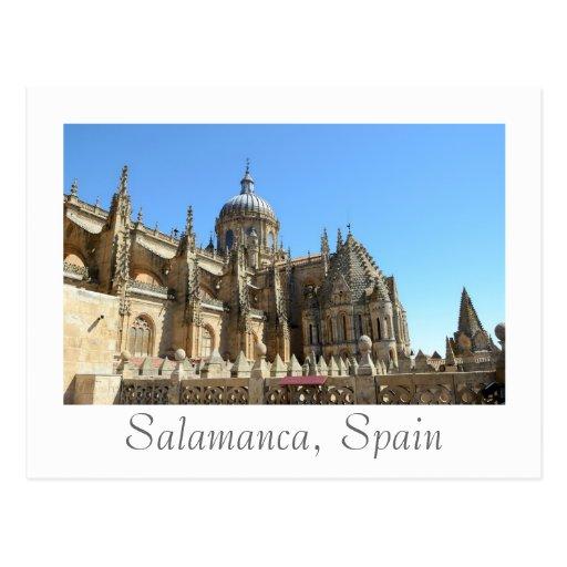 Catedral Nueva de Salamanca Post Card