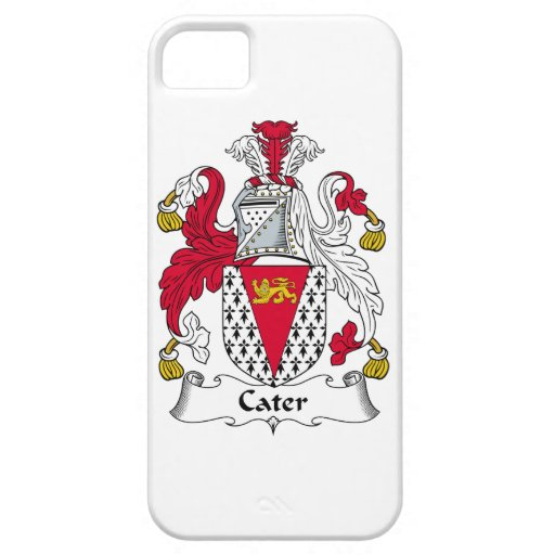 Cater Family Crest iPhone 5 Case