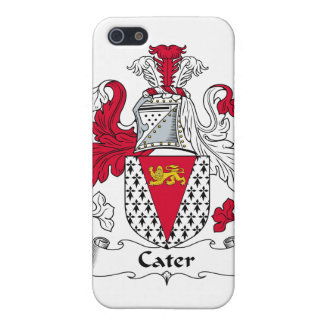 Cater Family Crest iPhone 5 Cases