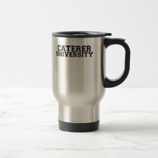Caterer University Travel Mug