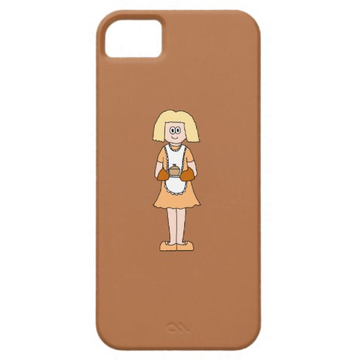 Caterer with Hot Soup. iPhone 5 Covers