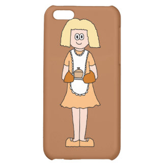 Caterer with Hot Soup iPhone 5C Covers