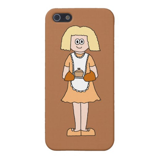 Caterer with Hot Soup. iPhone 5 Case