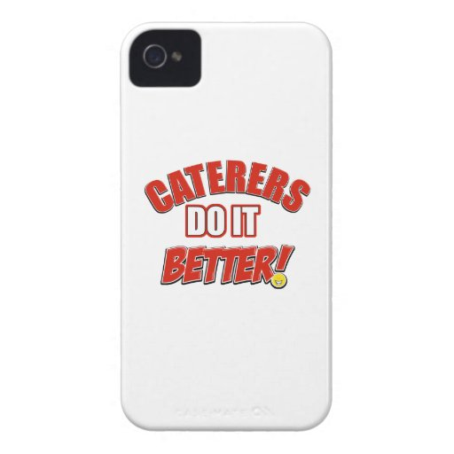 Caterers do it better iPhone 4 cases