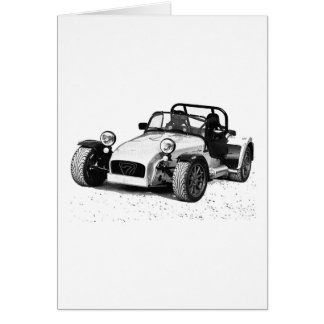 Caterham 07 card