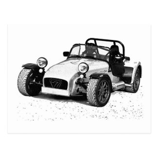 Caterham 07 postcard