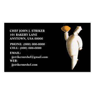 CATERING CHEF COOKING BAKER BUSINESS CONTACT CARDS PACK OF STANDARD BUSINESS CARDS