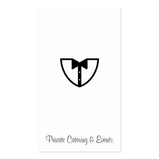 Catering & Events 2 Business Card