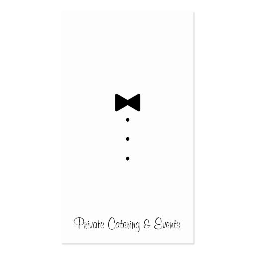 Catering & Events Business Card