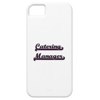 Catering Manager Classic Job Design Barely There iPhone 5 Case