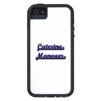 Catering Manager Classic Job Design Case For iPhone 5
