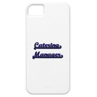 Catering Manager Classic Job Design iPhone 5 Cases