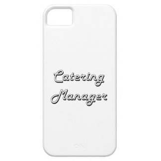 Catering Manager Classic Job Design Case For The iPhone 5
