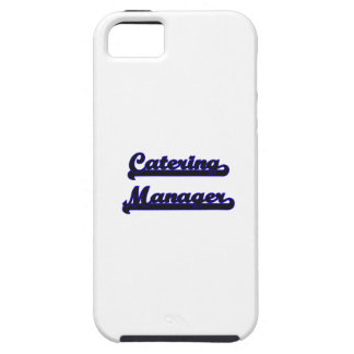 Catering Manager Classic Job Design iPhone 5 Covers