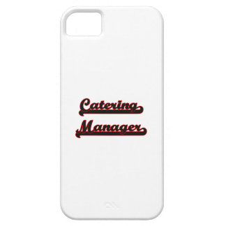 Catering Manager Classic Job Design iPhone 5 Cover