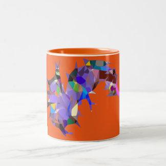 Caterpillar Abstract Surrealism Design Mug