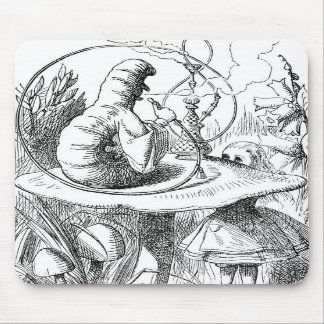 Caterpillar Alice s Adventures in Wonderland Mouse Pads