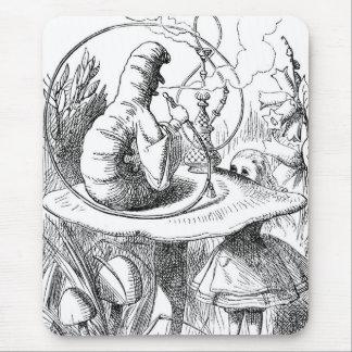 Caterpillar (Alice's Adventures in Wonderland) Mouse Pad