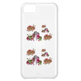 Caterpillar and Ladybug Lady Bug Graphic iPhone 5C Case