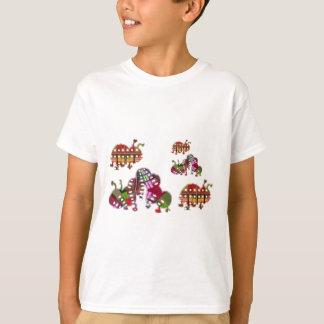 Caterpillar and Ladybug Lady Bug Graphic T-shirts