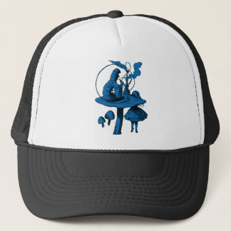Caterpillar Blue Fill Trucker Hat