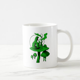 Caterpillar Green Fill Coffee Mug