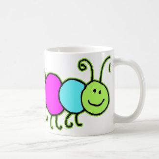 Caterpillar Netty Basic White Mug