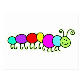 Caterpillar Netty Postcard