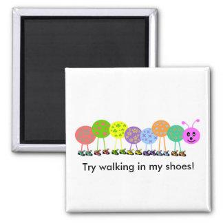 Caterpillar shoes magnet