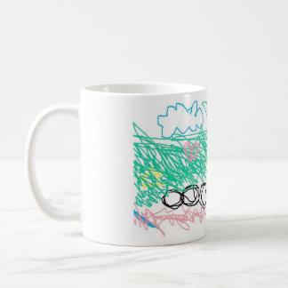 Caterpillar Skies ~ Basic White Mug