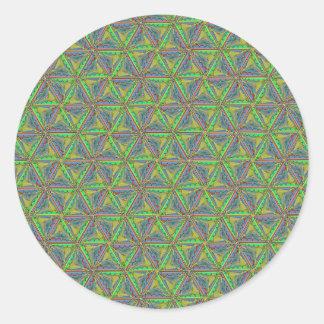 Caterpillar Wheel Round Sticker