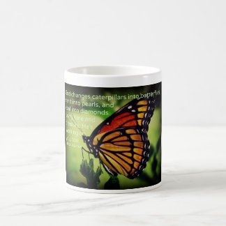 Caterpillars into Butterflies Coffee Mug