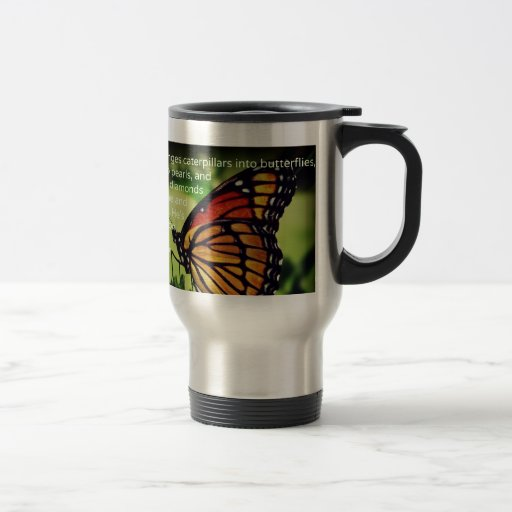Caterpillars into Butterflies Coffee Mugs