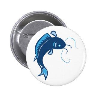 Catfish Pinback Buttons