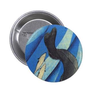 Catfish by Utagawa Kuniyoshi 6 Cm Round Badge