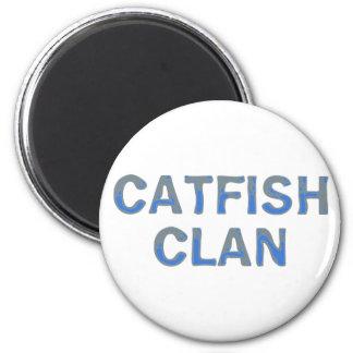 catfish clan refrigerator magnet