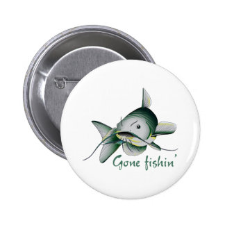 CATFISH GONE FISHIN BUTTONS