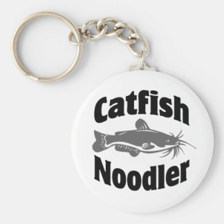 Catfish Noodler Keychain