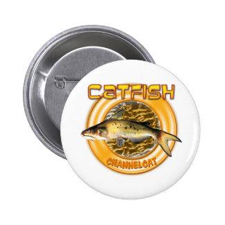 catfish ring 2 6 cm round badge