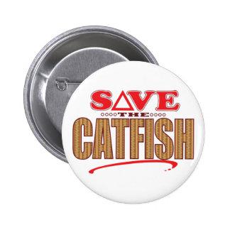 Catfish Save 6 Cm Round Badge