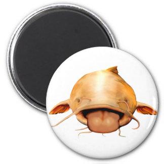 Catfish Tongue 6 Cm Round Magnet