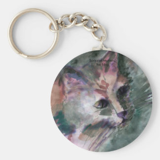 Catguard, Sartorial Matters, the blog Basic Round Button Key Ring