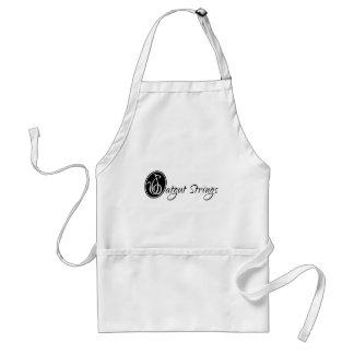 Catgut Strings Treble Clef Logo Standard Apron