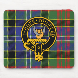 Cathcart Scottish Crest and Tartan Mouse Pad