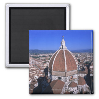 Cathedral 3 square magnet
